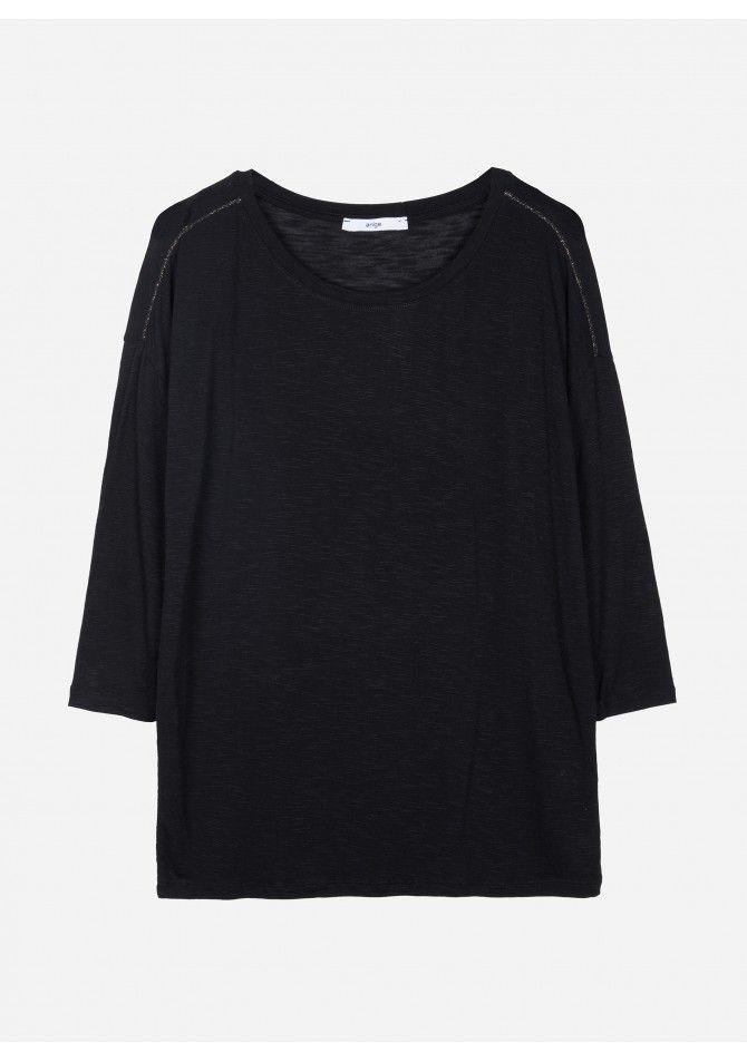 T-shirt com Lurex