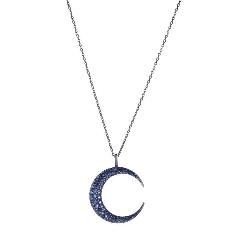Colar lua azul