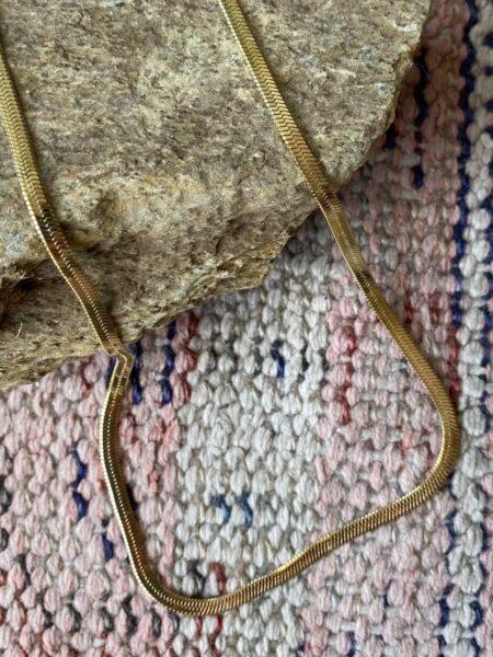 Colar pele de serpente-Violet & Ginger