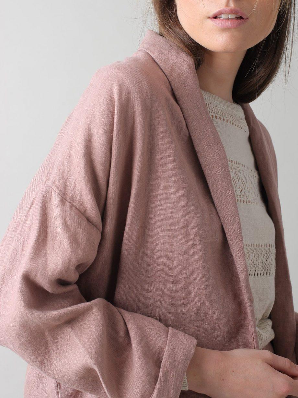 Kimono em linho