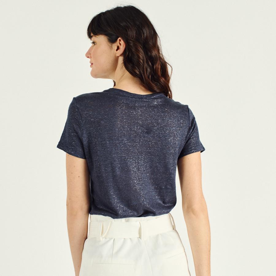 T-shirt de linho