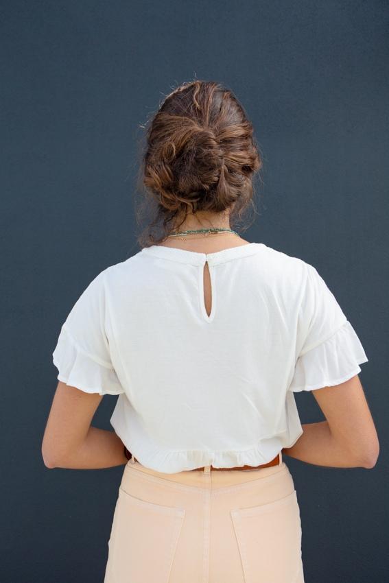 T-shirt bordada