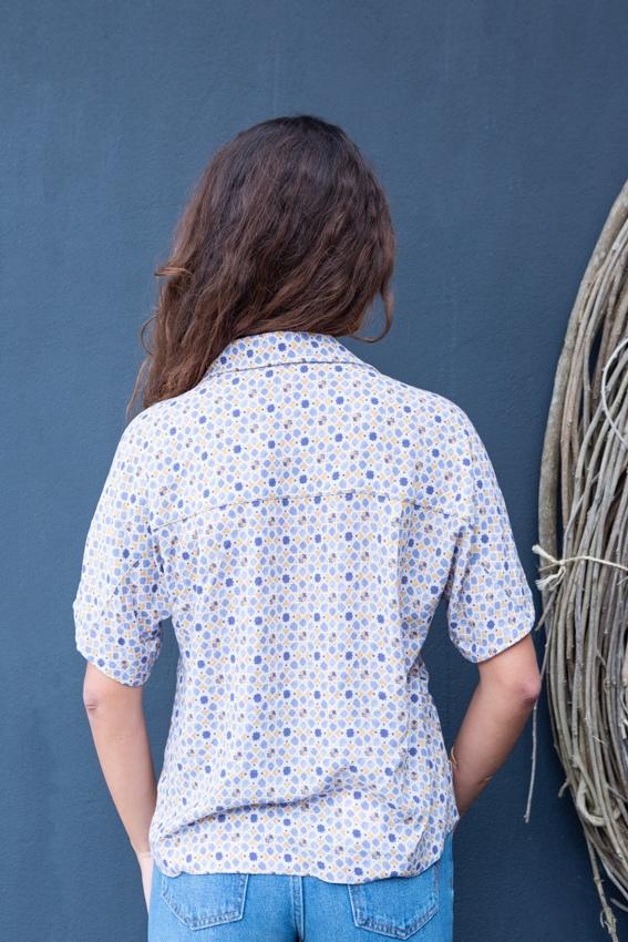 Camisa Print Geométrico