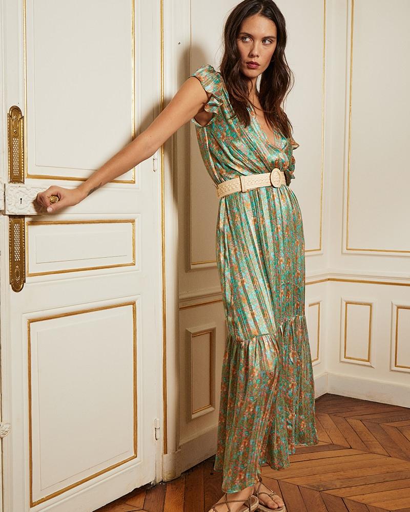 Vestido Comprido Fluido