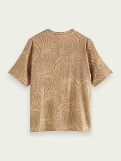 T-shirt estampada com brilho