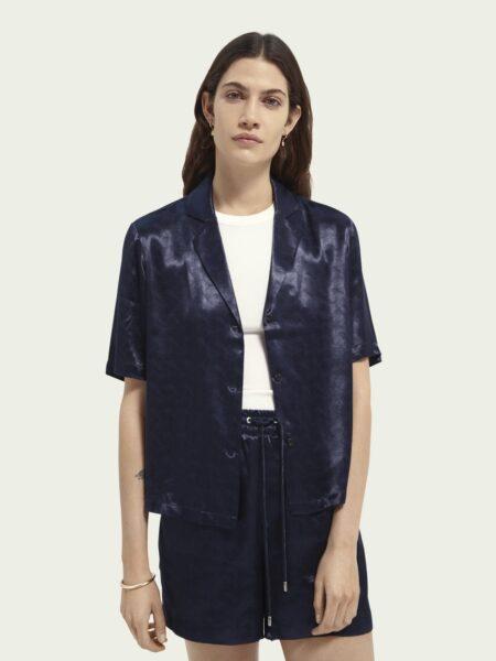 Camisa Azul Noite