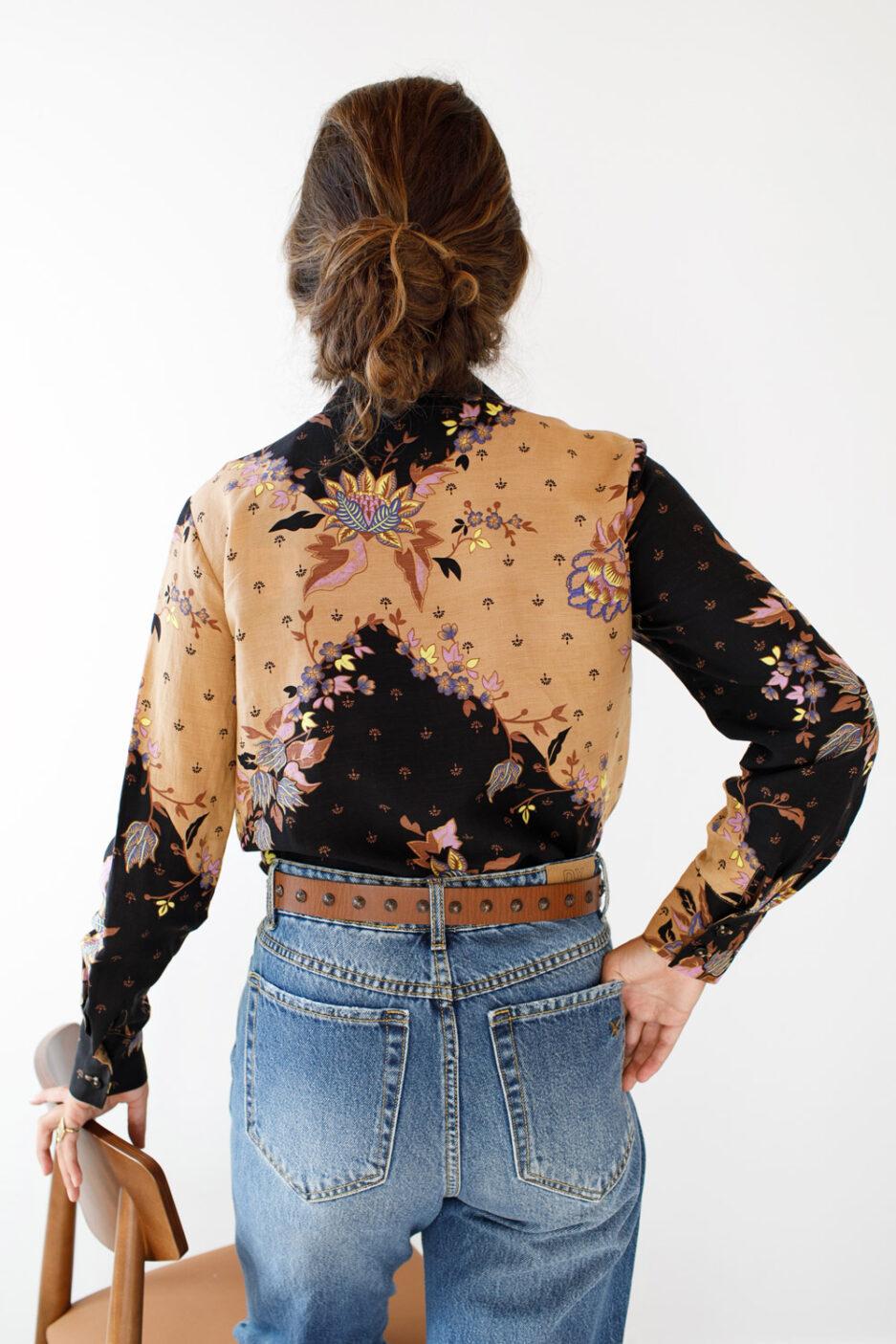 Camisa Estampada-Violet&Ginger