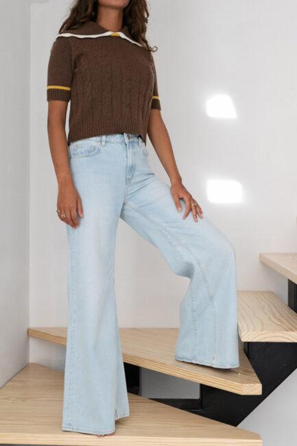 Jeans wide leg-Violet&Ginger