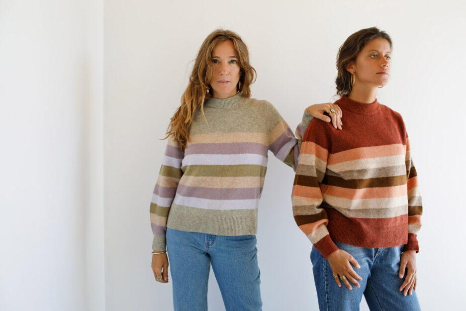 Camisola de riscas-Violet&Ginger