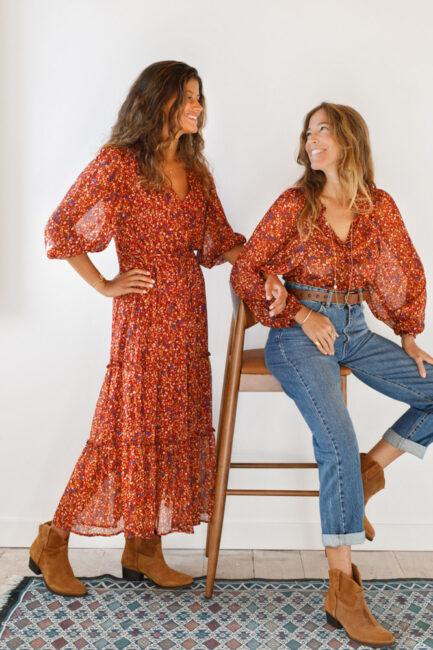 Vestido boémio-Violet&Ginger