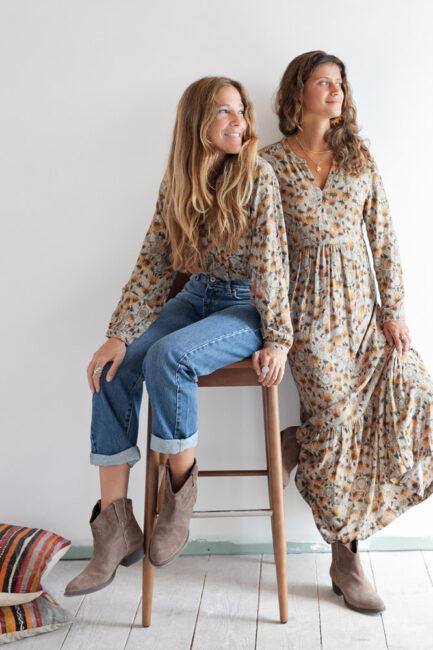 Vestido estampado-Violet&Ginger