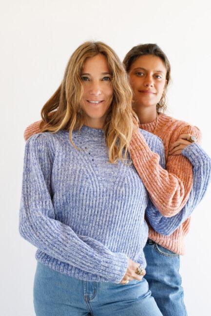 Camisola mesclada com pormenores-Violet&Ginger