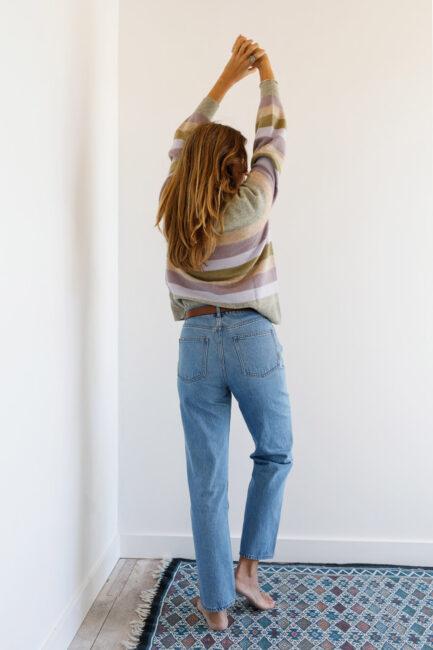 Jeans straight fit-Violet&Ginger