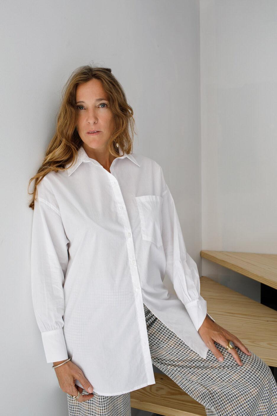 Camisa Clássica em algodão-Violet&Ginger
